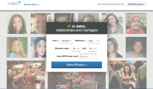 Flying in the Online Dating World
